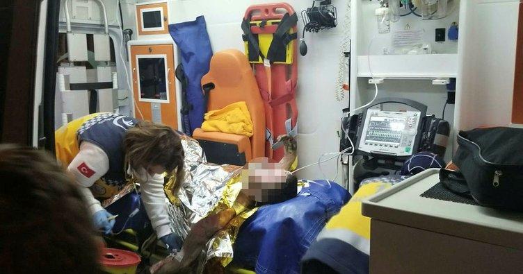 Esenler'de evde kendini yakan kişi öldü