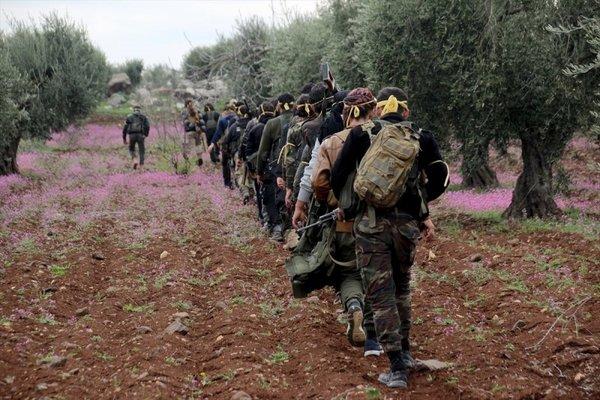Türk Silahlı Kuvvetleri Zeytin Dalı'nda tüm hızıyla ilerlemeye devam ediyor
