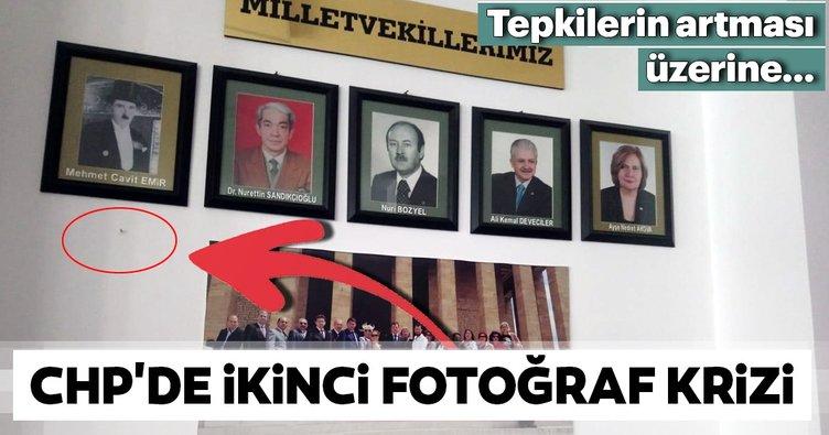 CHP'de ikinci fotoğraf krizi
