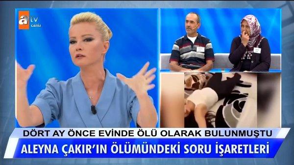 Müge Anlı'da son dakika! Aleyna Çakır'ın ölümü olayında şok itiraf! Ümitcan Uygun, Aleyna'nın (Sema Esen) ağzına silah... | Video
