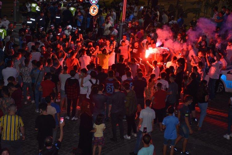 Türkiye Kupası şampiyonluğunun ardından Trabzon'da büyük coşku!