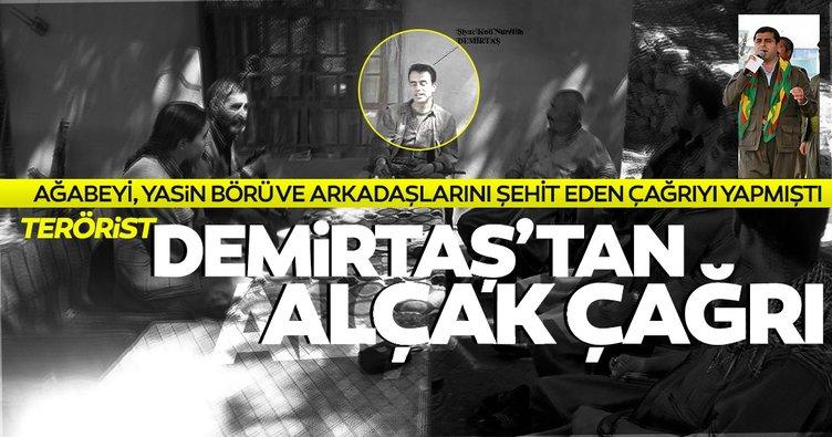 Son dakika haberi... Terörist Demirtaş'tan alçak sokak çağrısı!