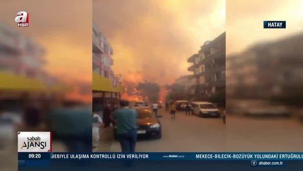 Son Dakika Haberi   Hatay yangını son durum: Hatay orman yangını söndürüldü! Failler için ise...   Video