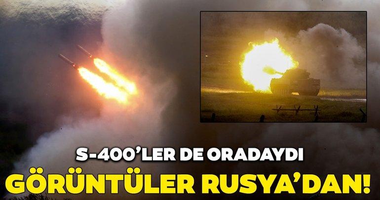 S-400 böyle görüntülendi! Rusya'da 'Armiya-2019' başladı