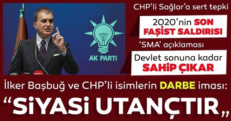 Son Dakika Haberler - AK Parti Sözcüsü Ömer Çelik'ten AK Parti MYK sonrası açıklamalar