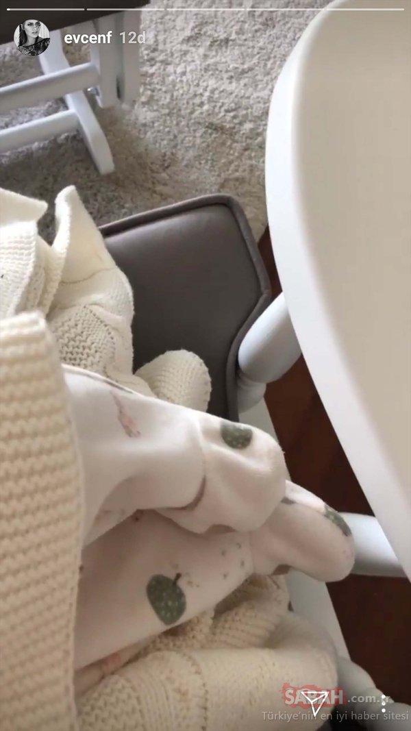 Fahriye Evcen ve Burak Özçivit bebeği Karan'ın videosunu paylaştı!