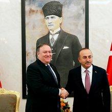Son dakika: Dışişleri Bakanı Çavuşoğlu, ABD Dışişleri Bakanı görüştü