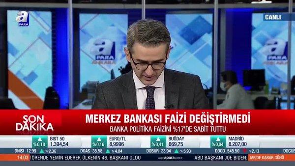 Son dakika! Merkez Bankası kritik faiz kararını açıkladı