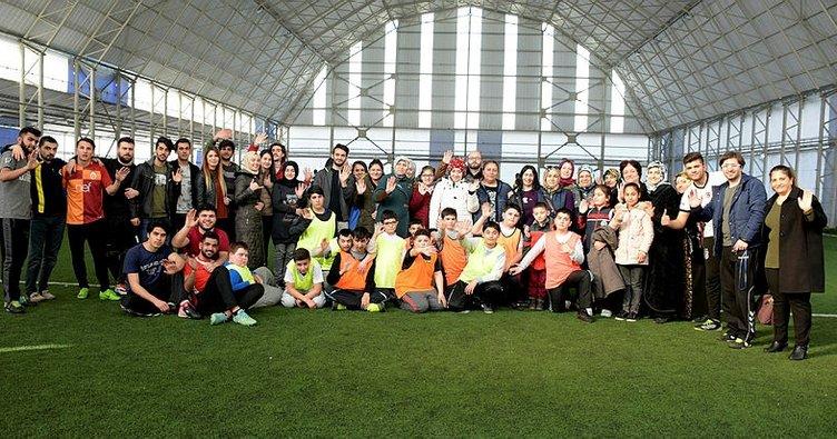 Tuzla'da 'Özel Çocuklarımız' Gönüllerin Şampiyonu