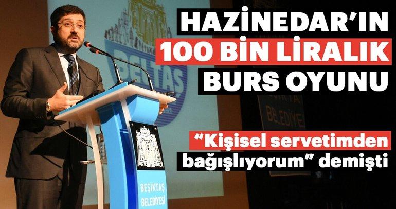 Murat Hazinedar'ın 100 bin liralık burs oyunu