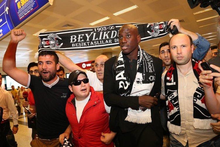 Demba Ba Türkiye'ye geldi