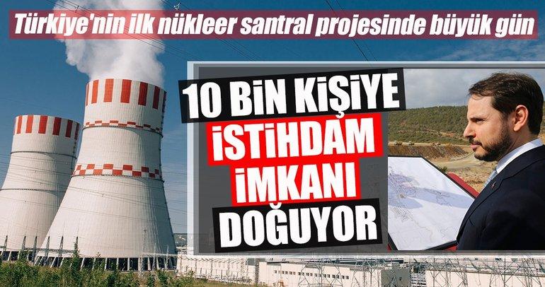Türkiye'nin ilk nükleer santrali Akkuyu'da 10 bin kişiye istihdam imkanı doğacak