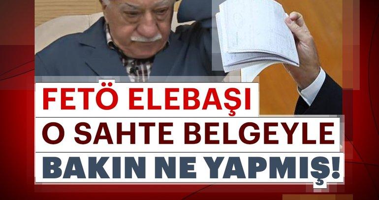 FETÖ elebaşı Gülen sahte belgeyle 49 yaşında yaşlılık maaşı almış