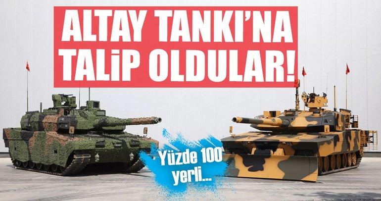 Altay tankının motoruna 5 talip