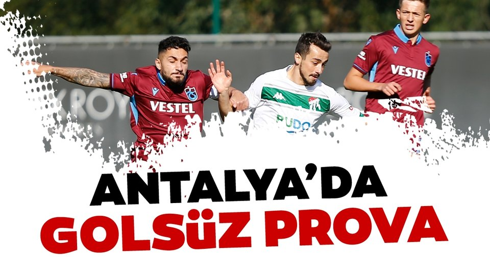 Trabzonspor 0 - 0 Bursaspor MAÇ ÖZETİ   Son dakika Trabzonspor haberleri   Trabzonspor Bursaspor maç özeti