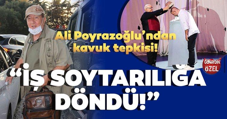 """Usta oyuncu Ali Poyrazoğlu'ndan kavuk tepkisi! Ali Poyrazoğlu """"İş soytarılığa dönüştü..."""