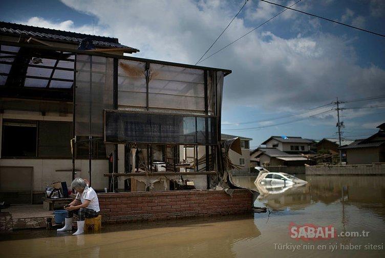 Japonya'da felaket: Ölü sayısı 150'yi geçti...