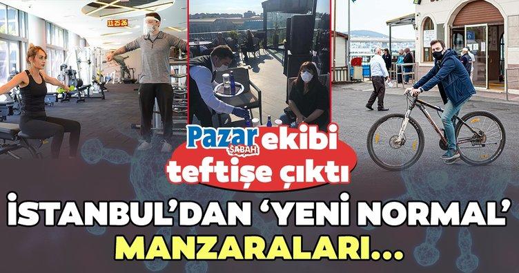 İstanbul'dan yeni normal manzaraları