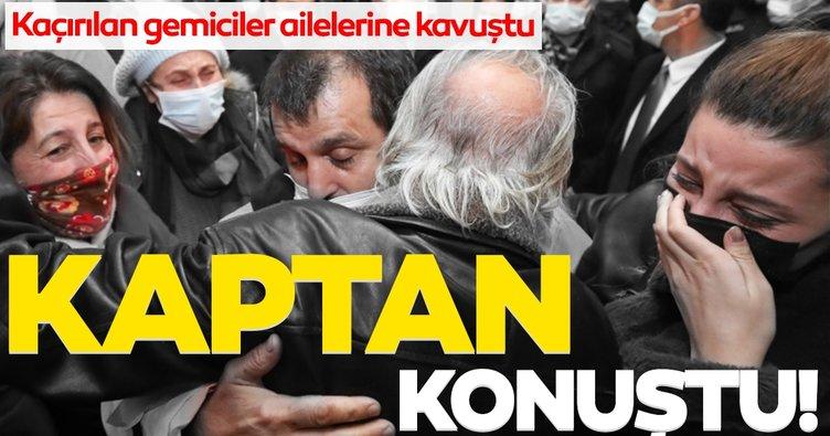 Son dakika haber: Nijerya'da kaçırılan Türk gemiciler konuştu!