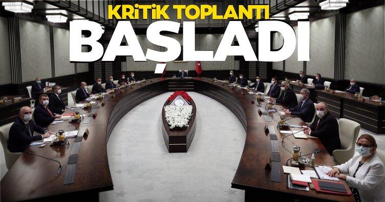 SON DAKİKA! Kritik Kabine toplantısı başladı; Başkan Erdoğan açıklama yapacak