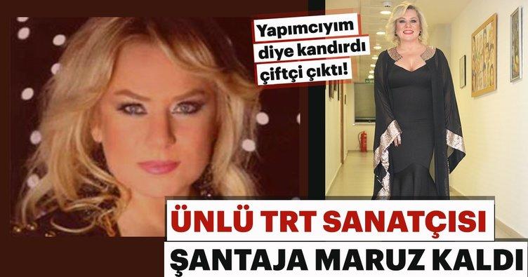 Ünlü TRT ses sanatçısı Ayfer Er şantaja maruz kaldı!
