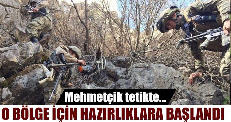 Mehmetçik Kuzey Irak için operasyonda! O bölge için hazırlıklar kapıda!