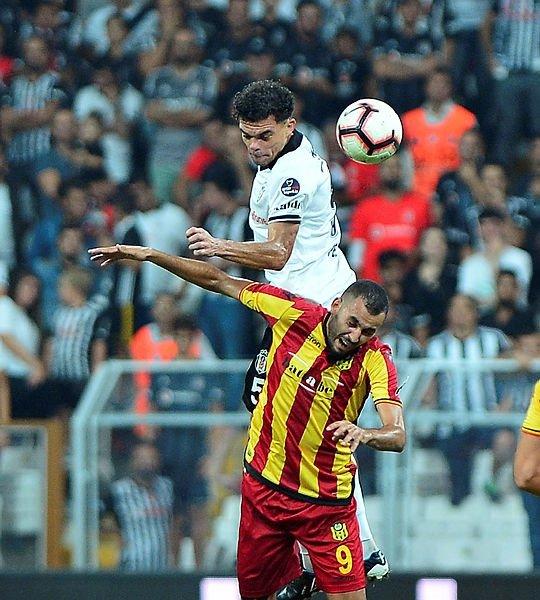 Beşiktaş - Yeni Malatyaspor maçından renkli kareler