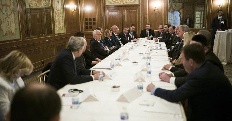 THO Başkanı Çınar Başkan YardımcısıPence ile görüştü