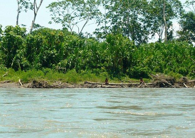 Amazon'daki kabileyle ilk temas