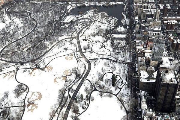 Manhattan adasını havadan görüntülendi
