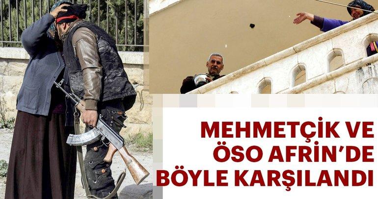 TSK ve ÖSO Afrin şehir merkezinde kontrolü ele geçirdi