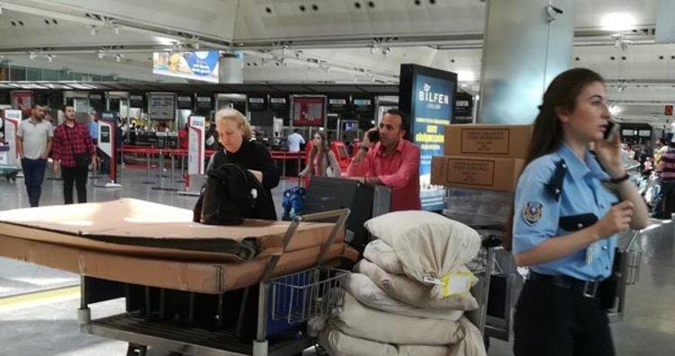 Atatürk Havalimanı'nda seçim hazırlıkları