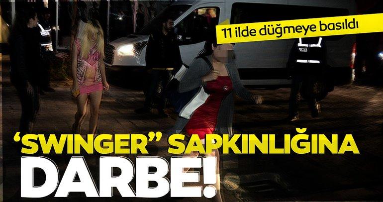 Son dakika haberi... Adana merkezli 11 ilde Swinger operasyonu: 35 gözaltı kararı