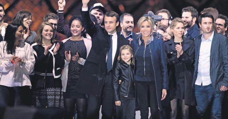 Müslümanlardan Macron'a destek