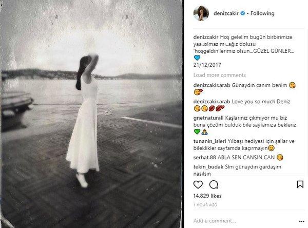 Ünlülerin Instagram paylaşımları (21.12.2017)