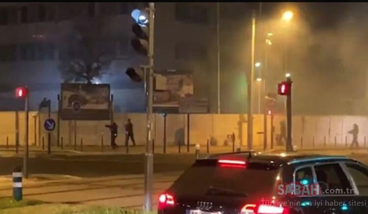 Son dakika! Paris resmen yanıyor! Sabaha karşı olaylar çıktı
