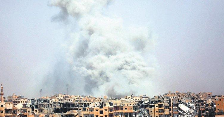 Suriye'de ABD katliamı 60 ölü