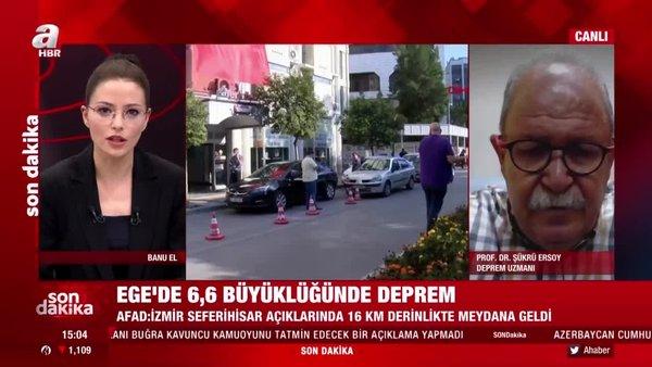 Son dakika: İzmir'de 6,6 büyüklüğünde deprem! Uzman isimden önemli açıklamalar | Video