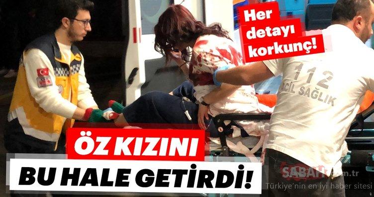 Son dakika: Bursa'da psikolojik sorunları olan baba öz kızını döverek dehşet saçtı!