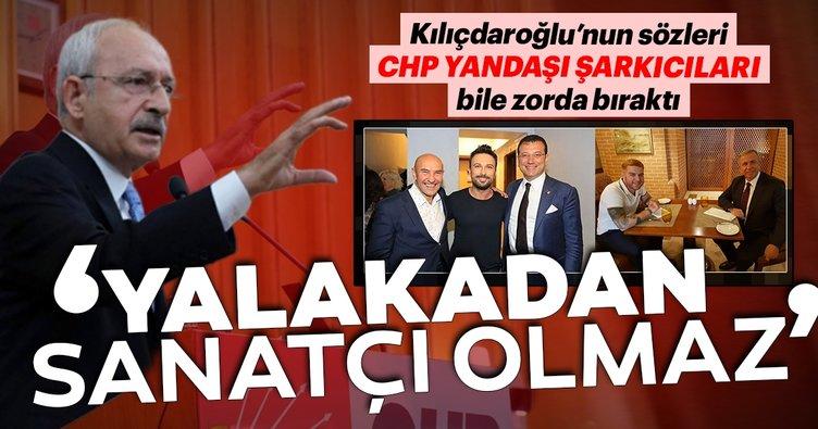Kılıçdaroğlu'nun sözleri CHP yandaşı şarkıcıları bile zorda bıraktı