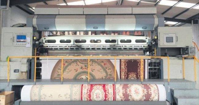 Dünyanın makine halısı ihtiyacının yarısını Gaziantep karşılıyor