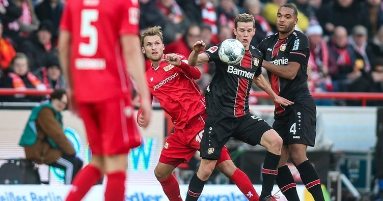 Union Berlin vs Leverkusen Highlights, 15/02/2020