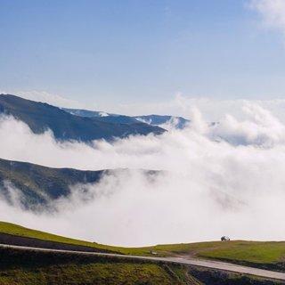 Herkes oraya hayran kalıyor! İşte bulutların üzerindeki Beypınarı Yaylası