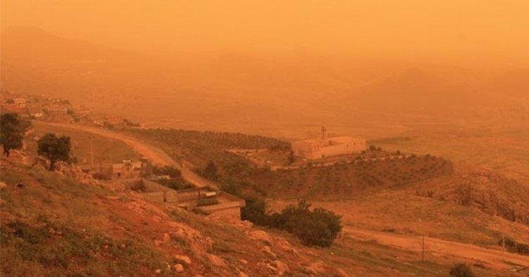 Mardin toz bulutu etkisi altında