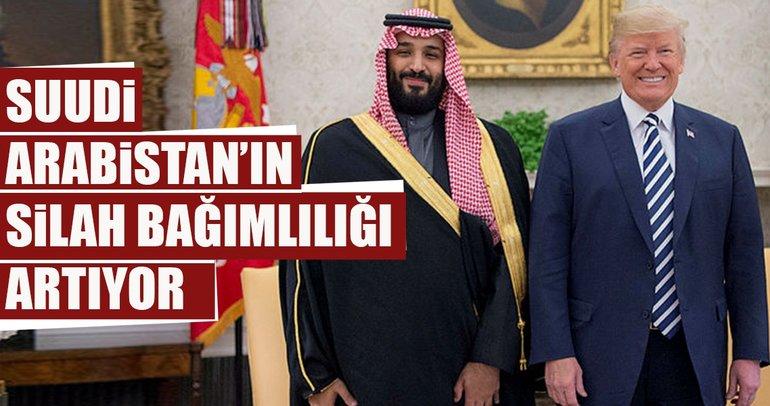 Suudi Arabistan'ın ABD silahlarına bağımlılığı