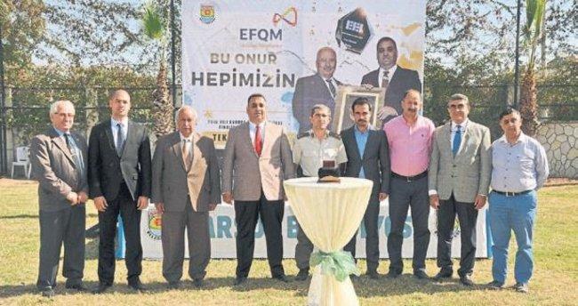 Tarsus Belediyesi'ne mükemmellik ödülü