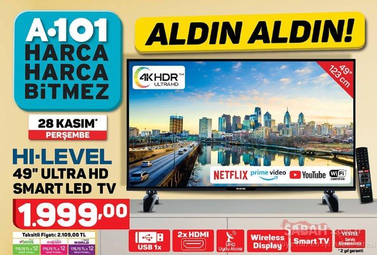 A101 aktüel ürünler kataloğu! 28 Kasım'dan itibaren...