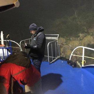 Yolcu motoru karaya oturdu; yolcular tahliye edildi
