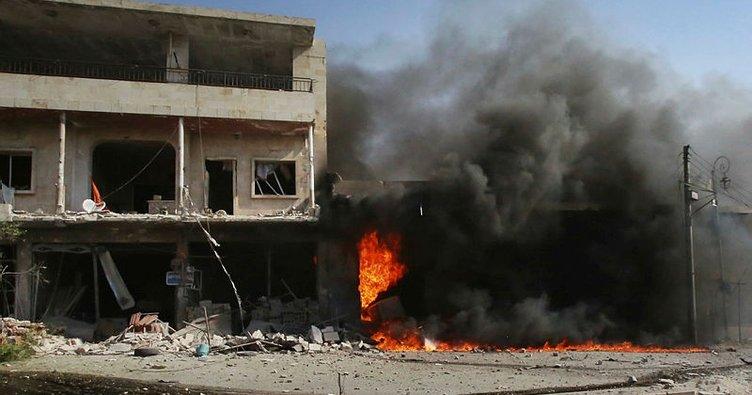 Rejim İdlib kent merkezini de vurdu: 8 sivil ölü, 35 sivil yaralı