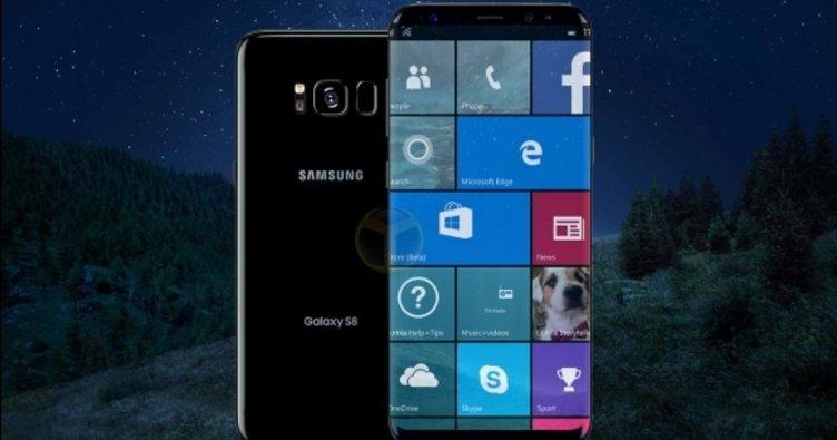 Galaxy S8 Windows 10 versiyonu mu geliyor?